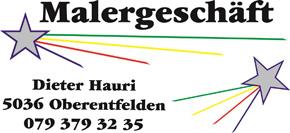 Maler Dieter Hauri